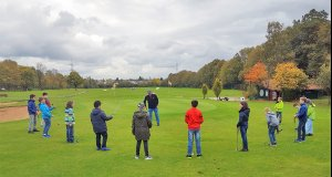 Golfen am Holbein