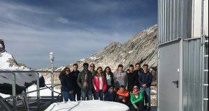 W-Seminar Geographie besucht das Schneefernerhaus…