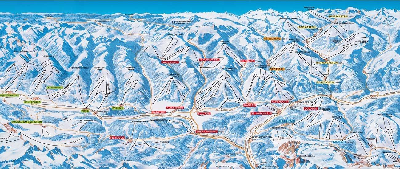 Skiwelt Amade: Ein Ziel in unseren Skikursen