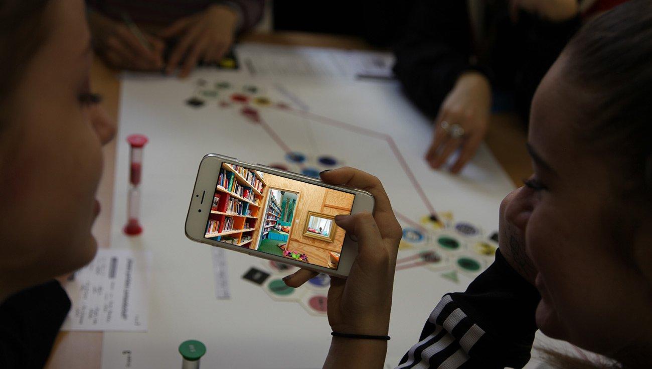 Wir nehmen Sie mit!|Virtueller Schulrundgang für künftige Holbeiner