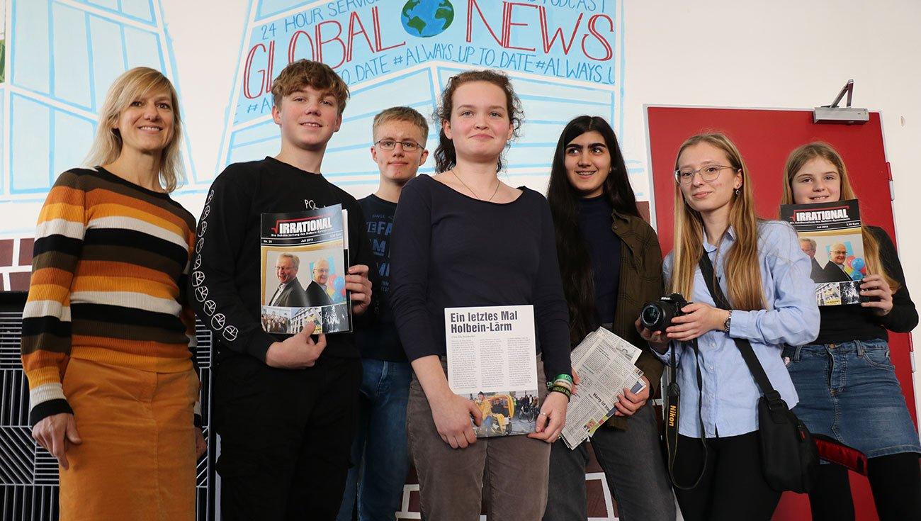 Preisgekrönte Schülerzeitung: IRRATIONAL