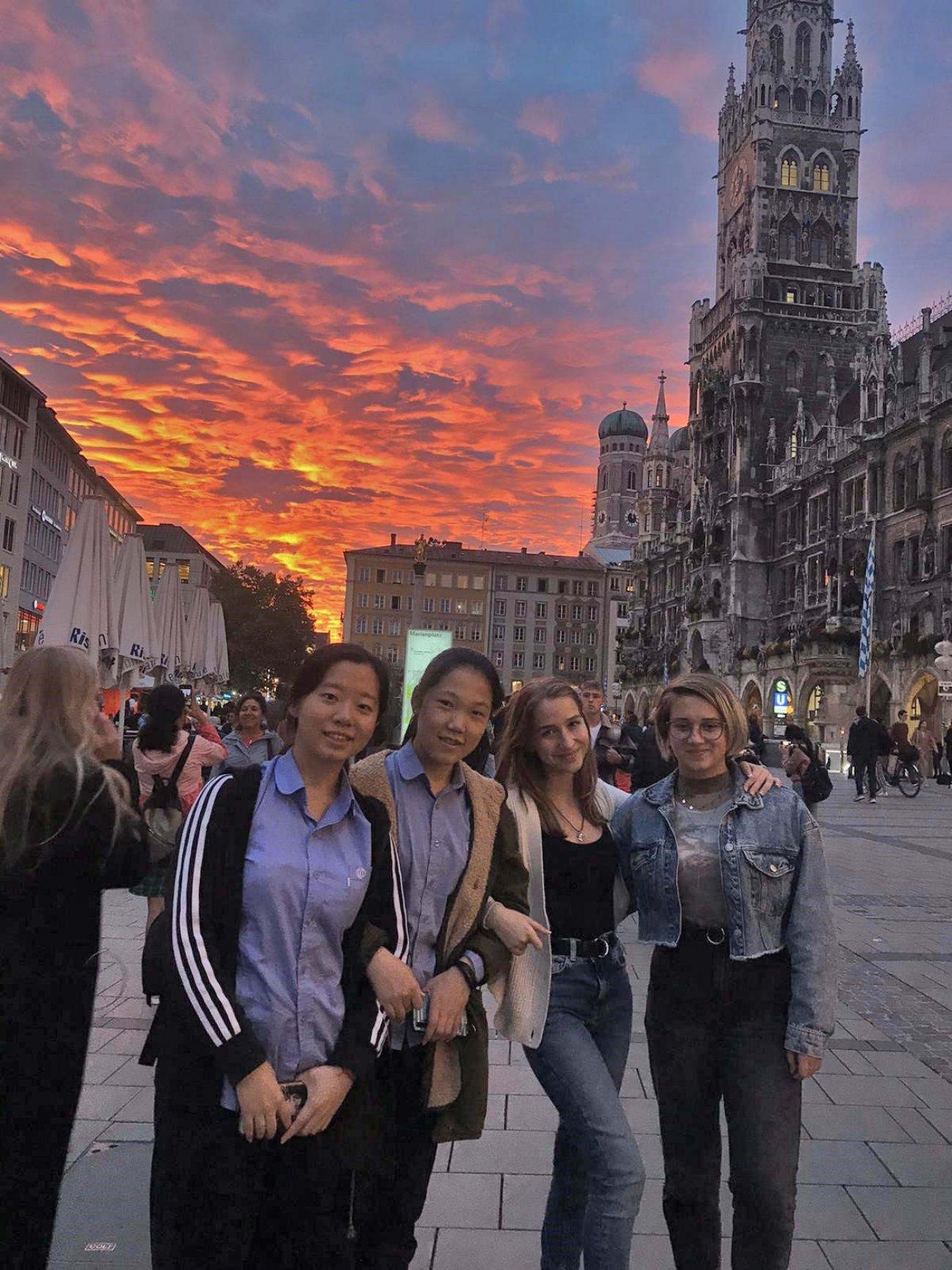 Beeindruckende Impression aus München