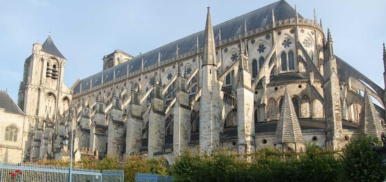 Die Kathedrale in Bourges