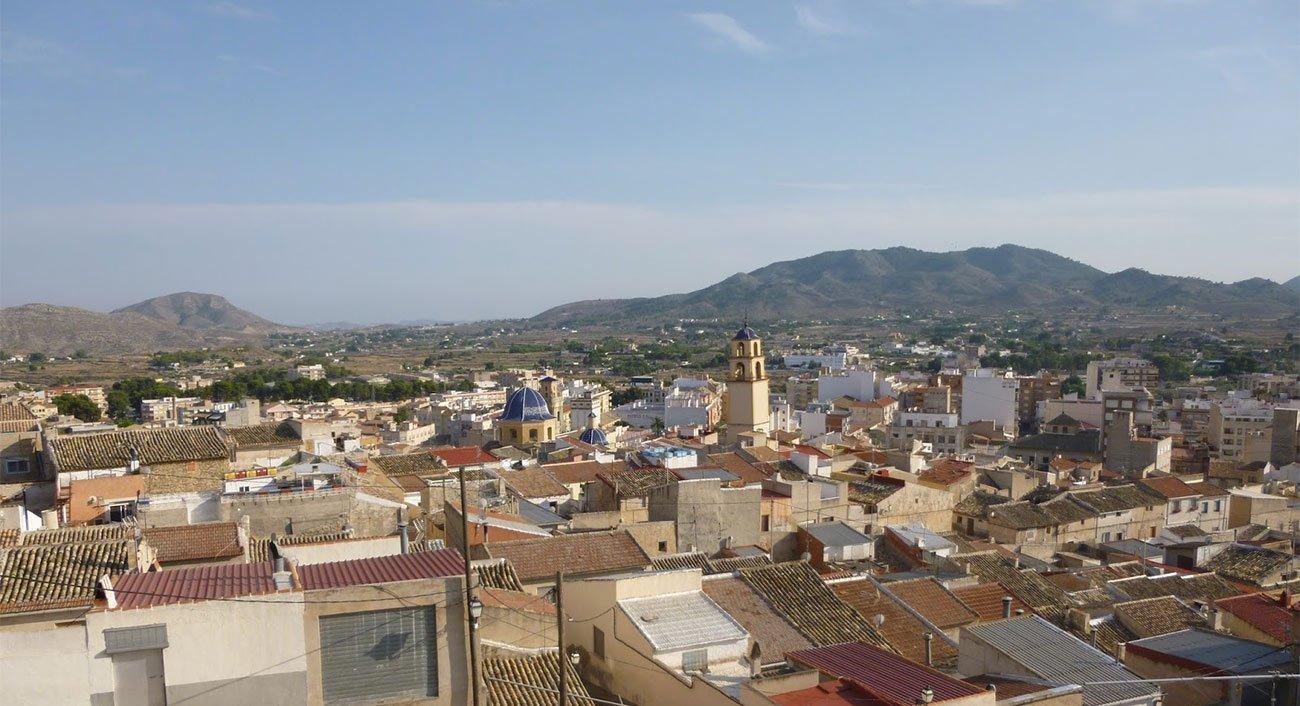 Monóvar in Spanien